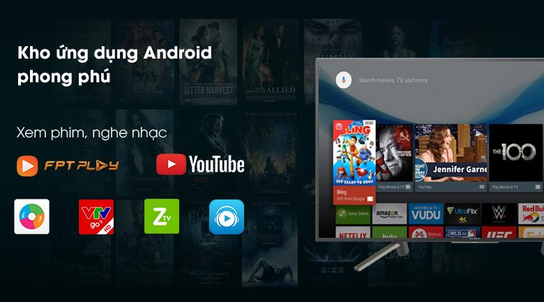 sony kdl 43w800f daidien - Android Tivi Sony 43 inch KDL-43W800F
