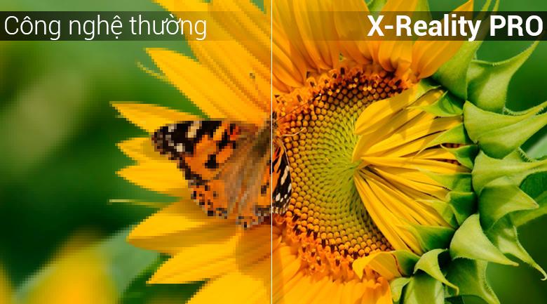 Công nghệ xử lý hình ảnh X-Reality PRO  trên Android Tivi Sony 49 inch KDL-49W800F