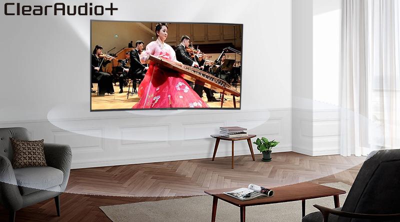 công nghệ ClearAudio+ trên Android Tivi Sony 49 inch KDL-49W800F