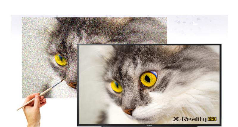 Chất lượng hình ảnh được nâng cao với công nghệ X-Reality PRO