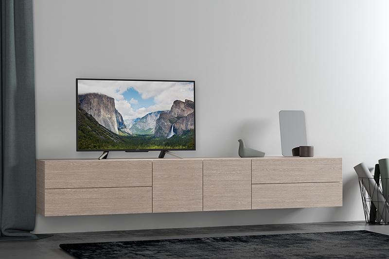 Thiết kế trên Smart Tivi Sony 43 inch KDL-43W660F