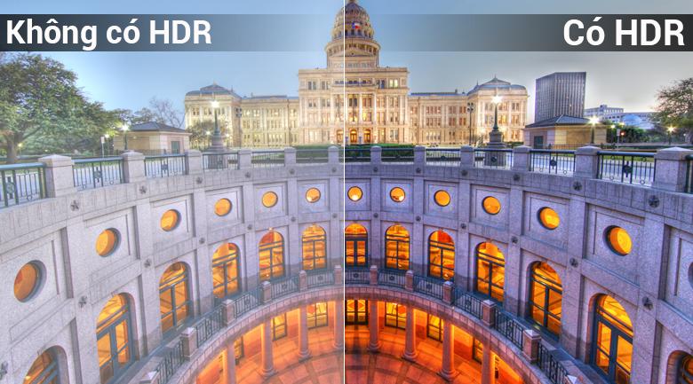 Công nghệ HDR trên Smart Tivi Sony 50 inch KDL-50W660F