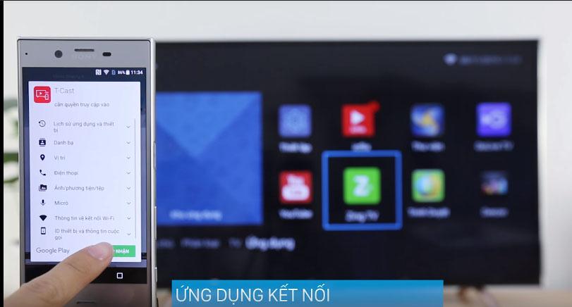 Điều khiển tivi bằng Smartphone