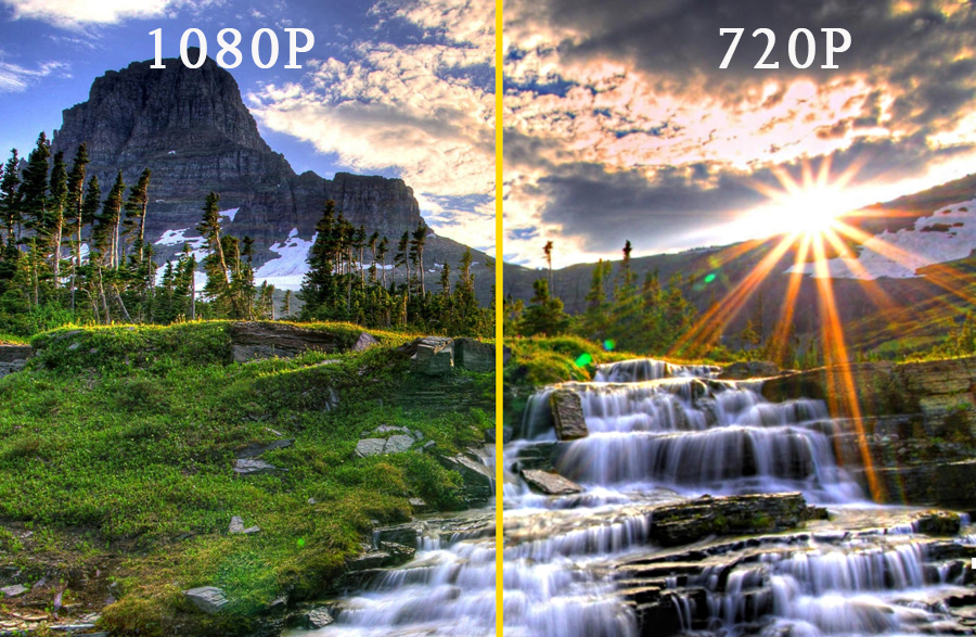 Độ phân giải Full HD mang lại hình ảnh sắc nét nhất