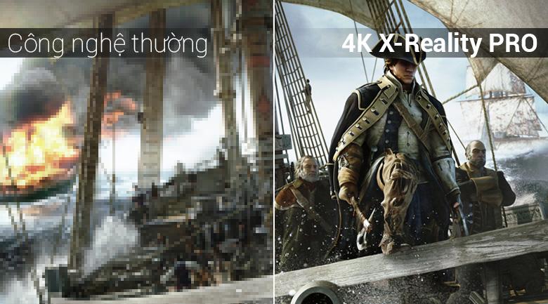 Công nghệ 4K X-Reality PRO trên Android Tivi Sony 4K 43 inch KD-43X8500F