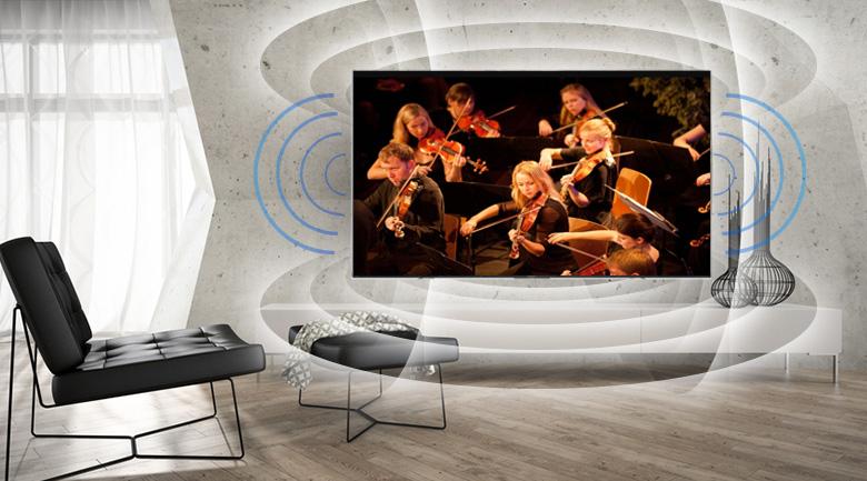 Công nghệ ClearAudio+ trên Android Tivi Sony 4K 43 inch KD-43X8500F