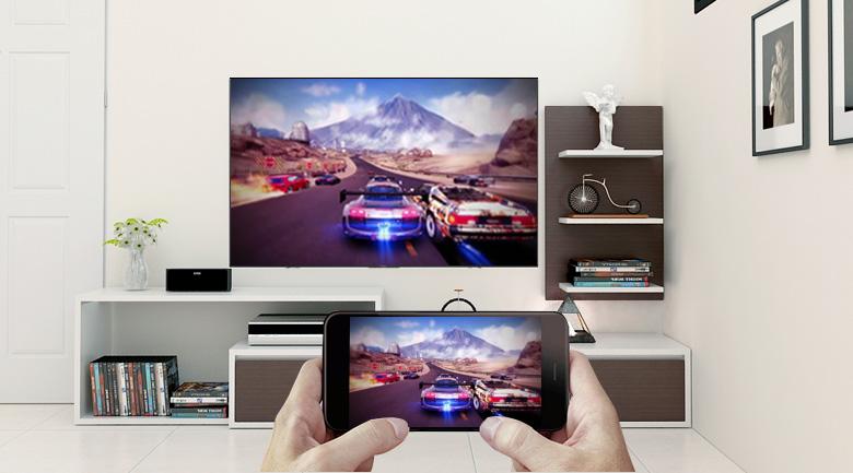 Công nghệ Screen Mirroring trên Android Tivi Sony 4K 43 inch KD-43X8500F