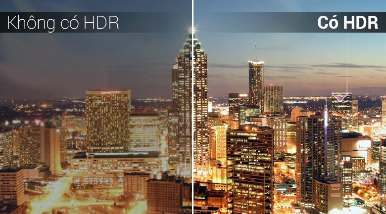 Công nghệ 4K HDR trên Android Tivi Sony 4K 43 inch KD-43X8500F