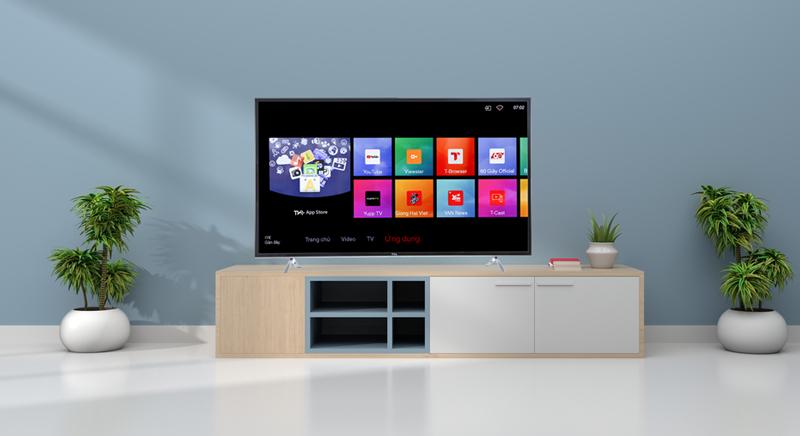 Tổng quan về Smart tivi TCL L50P62