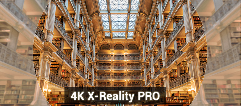 Công nghệ X-Reality Pro trên tivi Sony X8500F/S