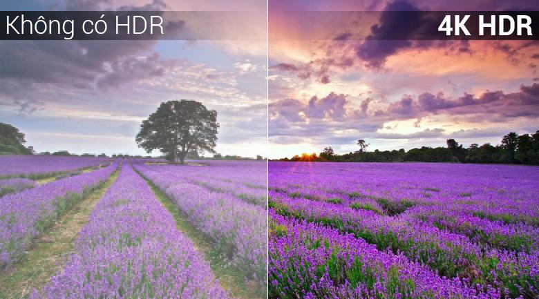 công nghệ 4K HDR trên Android Tivi Sony 4K 43 inch KD-43X7500F