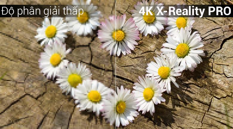 công nghệ 4K X-Reality PRO trên tivi Android Tivi Sony 4K 49 inch KD-49X8500G