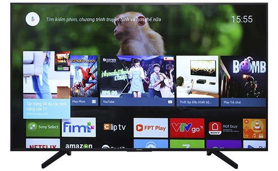 Android Tivi Sony 4K 49 inch KD-49X7500F