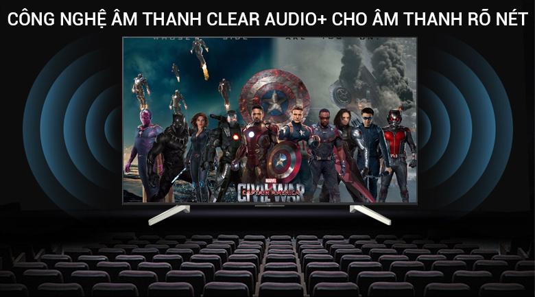 Công nghệ âm thanh Clear Audio +