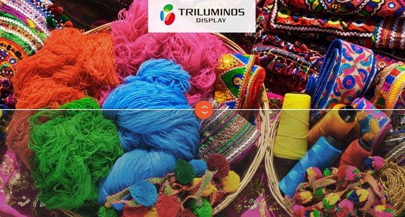 Màu sắc bắt mắt với công nghệ TRILUMINOS Display