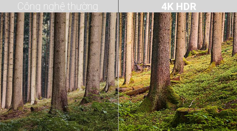 Công nghệ 4K HDR trên Android Tivi Sony 4K 49 inch KD-49X8500F/S