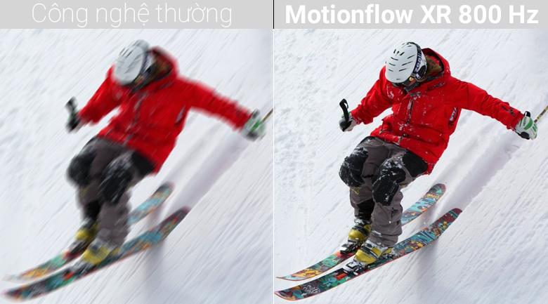 Công nghệ Motionflow XR 800 Hz trên Android Tivi Sony 4K 49 inch KD-49X8500F/S