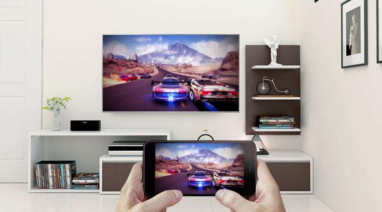 Tính năng Screen Mirroring trên Android Tivi Sony 4K 49 inch KD-49X8500F/S