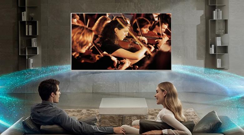 Công nghệ Clear Audio+ trên Android Tivi Sony 4K 49 inch KD-49X8500F/S