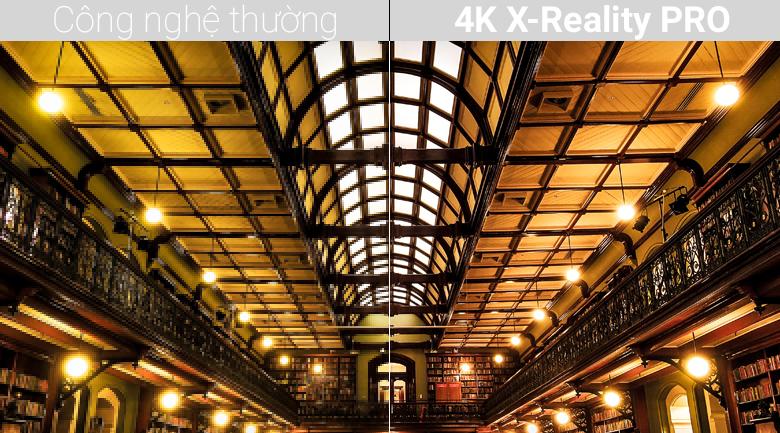Công nghệ 4K X-Reality PRO trên Android Tivi Sony 4K 49 inch KD-49X8500F/S
