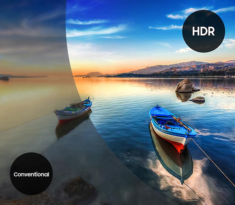 Công nghệ HDR tăng cường độ tương phản