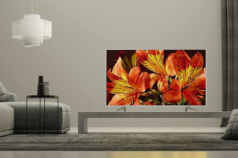 Tổng quan thiết kế tivi SONY X8500F