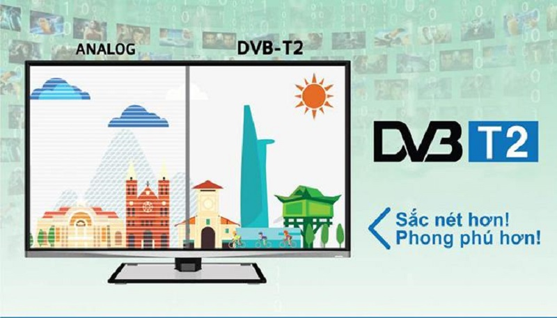 Truyền hình số mặt đất DVB-T2