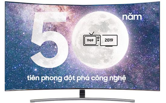Smart Tivi QLED Samsung 4K 55 inch QA55Q8CN