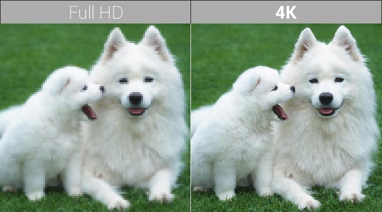 Chất lượng hình ảnh 4K trên Smart Tivi QLED Samsung 4K 75 inch QA75Q7FN