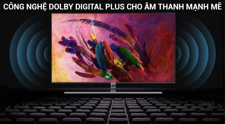 Công nghệ âm thanh Dolby Digital Plus cho âm thanh mạnh mẽ