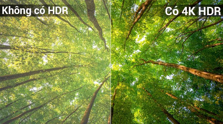 Công nghệ 4K HDR trên Android Tivi Sony 4K 65 inch KD-65X8500F