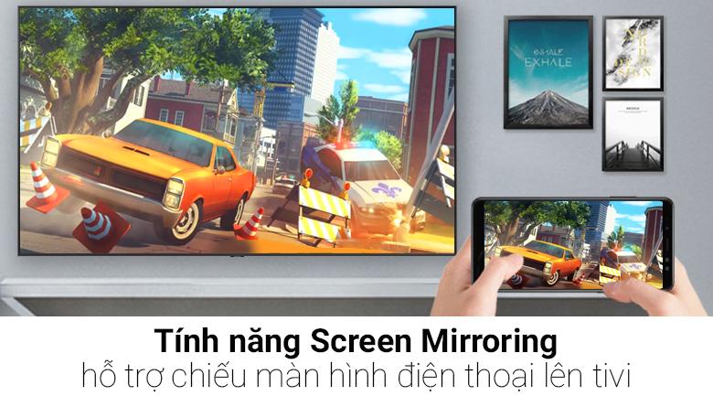 Tính năng Screen Mirroring trên Hệ điều hành Tizen OS trên Smart Tivi QLED Samsung 4K 75 inch QA75Q9FN