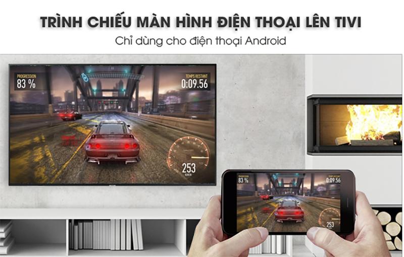 Công nghệ Screen Mirroring Smart Tivi Samsung 43 inch UA43NU7100