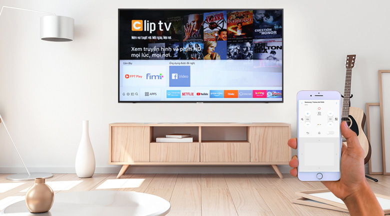 Điều khiển tivi bằng điện thoại cùng ứng dụng Samsung SmartThings
