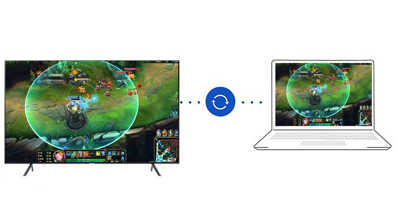 ứng dụng Steam Link Smart Tivi Samsung 4K 65 inch UA65NU7100