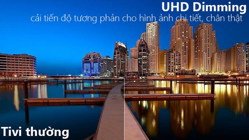 công nghệ UHD Dimming Smart Tivi Samsung 4K 65 inch UA65NU7100