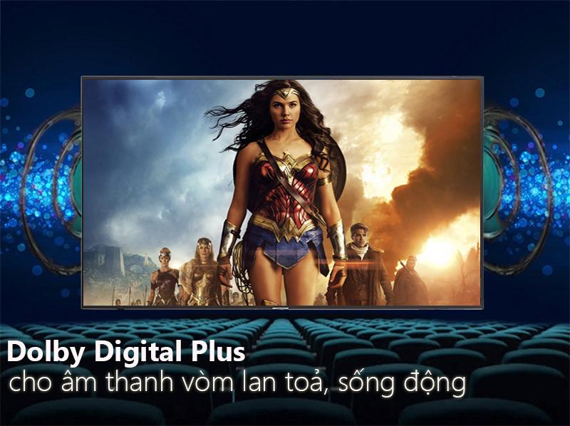 công nghệ Dolby Digital Plus Smart Tivi Samsung 4K 65 inch UA65NU7100