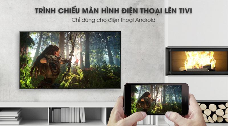 ứng dụng Screen Mirroring Smart Tivi Samsung 4K 65 inch UA65NU7100