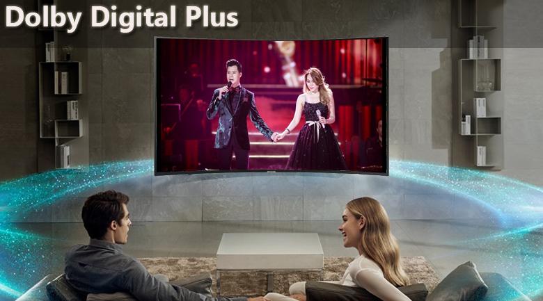công nghệ Dolby Digital Plus Smart Tivi Cong Samsung 4K 55 inch UA55NU7300