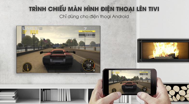 Tính năng Screen Mirroring trên Smart Tivi Samsung 4K 65 inch UA65NU8000
