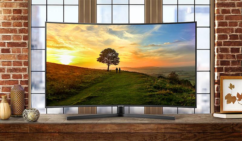 hình đại diện Smart Tivi Cong Samsung 65 inch UA65NU7500