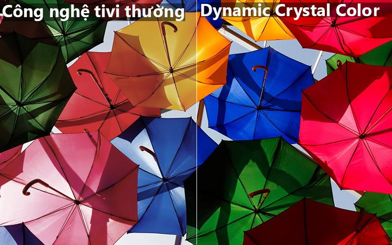công nghệ Dynamic Crystal Colour Smart Tivi Samsung 4K 82 inch UA82NU8000