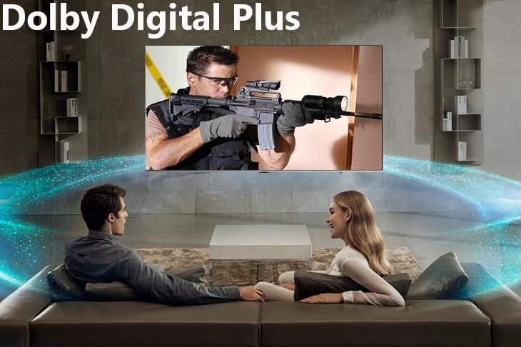 công nghệ Dolby Digital Plus Smart Tivi Samsung 4K 82 inch UA82NU8000