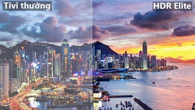 Công nghệ HDR Elite Smart Tivi Samsung 4K 55 inch UA55NU8000