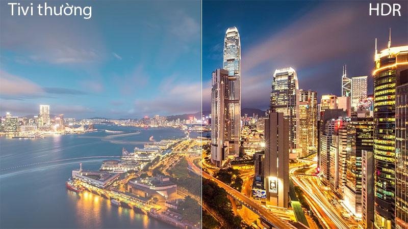 Công nghệ HDR Smart Tivi Cong Samsung 55 inch UA55NU7500