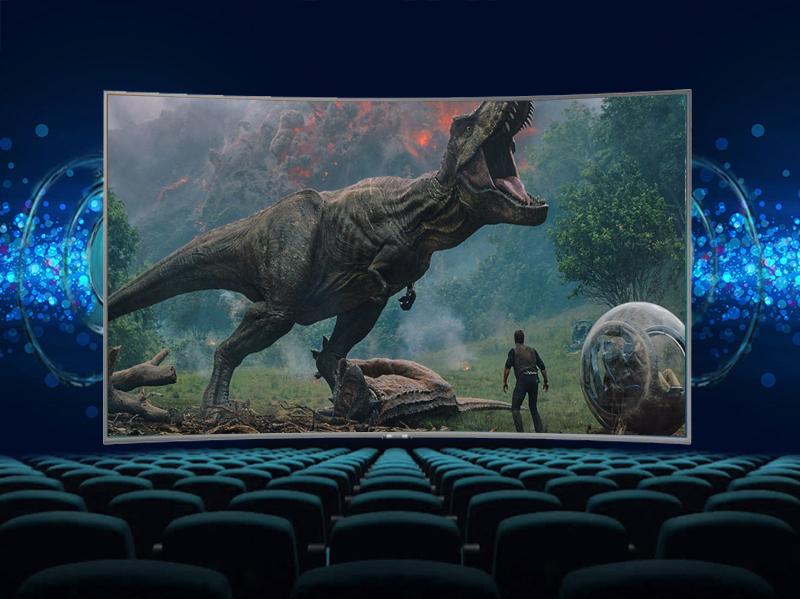 công nghệ Dolby Digital Plus của Smart Tivi Cong Samsung 49 inch UA49NU7500