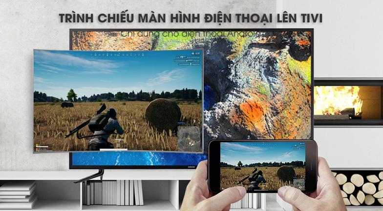 công nghệ Screen Morroring của Smart Tivi Cong Samsung 49 inch UA49NU7500
