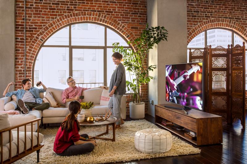 Tổng quan thiết kế Smart Tivi Samsung 4K 43 inch UA43NU7400