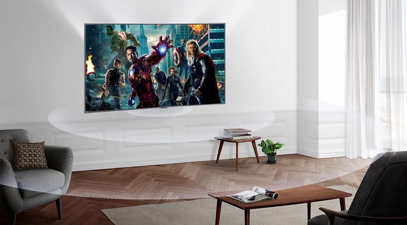 Công nghệ âm thanh Dolby Digital Plus trên Smart Tivi Samsung 4K 43 inch UA43NU7400