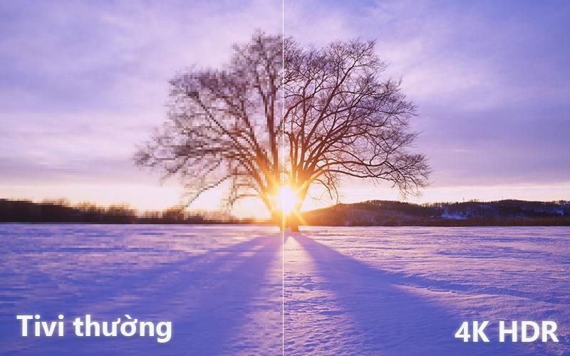 Độ phân giải 4k so với Full HD Smart Tivi Cong Samsung 49 inch UA49NU7300